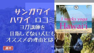 320x180 - 【Sanghawai(サンガワイ)口コミ】ヨガ講師を目指してない人にもオススメの理由とは?